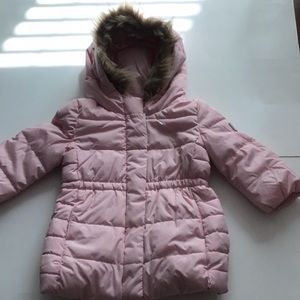 Hooded with Fur Cold Control Coat